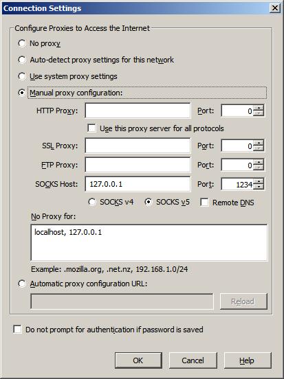 В обход: через туннель SSH, SOCKS-прокси и PuTTY - Основы