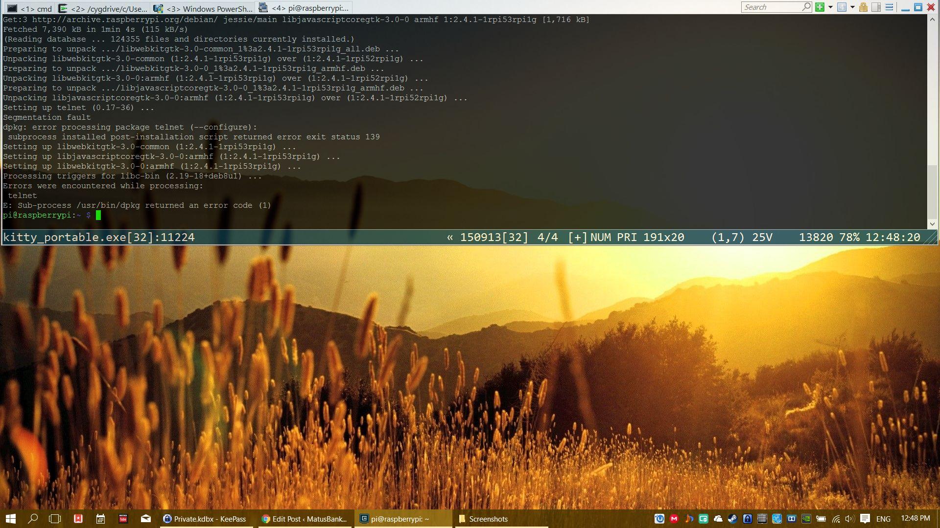 Putty software variations - MatusBankovic com