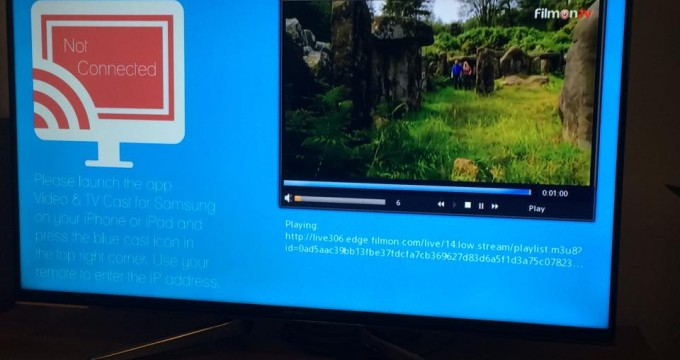 Stream video from iphone or ipad to Samsung smart TV