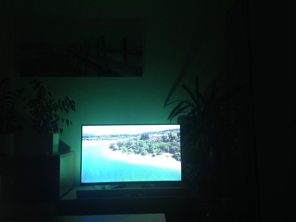 Ambient light samsung tv philips hue