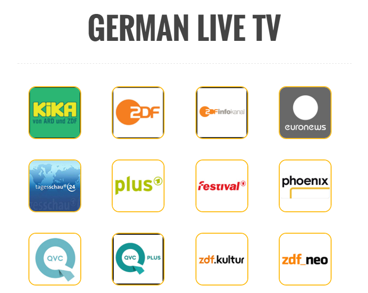 German Live Tv
